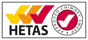 Hetas Registered Chimney Sweep